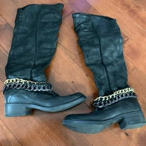 Leather Aldo boots